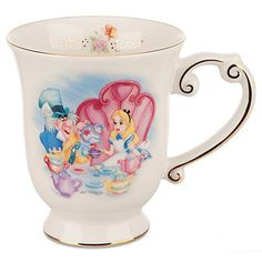Alice in Wonderland Tea Mug | Mugs | Disney Store on Wanelo