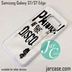 Panic At The Disco Phone Case for Samsung Galaxy S7 & S7 Edge