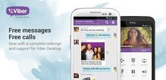 Download Viber :Free Messages & Calls App For Android (Version 3.0.2.5) Apk at http://allforandroid.net/app-for-android/viber-free-messages-calls-app.html