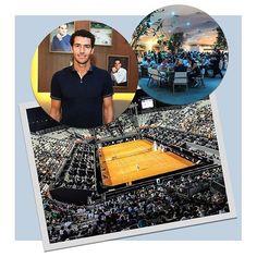 A @Rolex arma agora no Corcovado Club um coquetel para celebrar a abertura do Rio Open o maior torneio de tênis da América Latina que ocupa o Jockey Clube do Rio de Janeiro até o dia 26.02. A marca organizou também um tour exclusivo para seus convidados guiado pelo ex-tenista André Sá por áreas restritas do complexo. Patrocinadora de competições como o Australian Open e Wimbledon foi sempre através do esporte que a marca se aperfeiçoou: em 1926 a grife criou o primeiro relógio impermeável do…