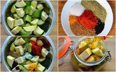 Traditional mango pickle Mango Achar Recipes, Pickled Mango, Nigella Seeds, Pickling Jalapenos, Mango Tree, Fennel Seeds, Vegan Gluten Free, Food Videos, Pickles