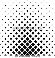 Black and white rounded square pattern design background