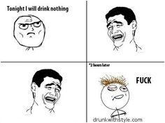 Drink Nothing Funny Drunk Meme Comic