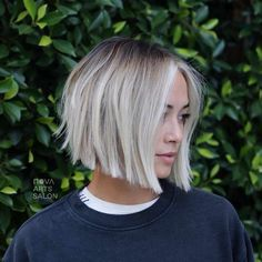 Gorgeous Soft Blunt Bob Haircuts for Women in 2019 for short hair bo. - Gorgeous Soft Blunt Bob Haircuts for Women in 2019 for short hair bob Gorgeous Soft Blu - Bob Haircut For Girls, Bob Haircuts For Women, Girl Haircuts, Haircut Bob, Short Hair Cuts For Women Bob, Bob Haircut For Fine Hair, Diy Haircut, Short Cuts, Blunt Bob Haircuts