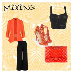 """#mixing#"" by mirela-alerim ❤ liked on Polyvore featuring City Chic, Joseph, JustFab and Chanel"
