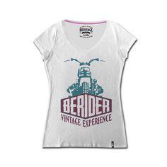 t shirt vintage motorcycle Biker T Shirts, Lady Biker, Vintage Ladies, Sport, Tops, Women, Fashion, Elegant, Moda