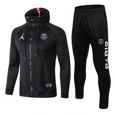 Jordan Psg Jacket Black With Zipper Psg, Hoodie Outfit, Hoodie Jacket, Nike Jacket, Nike Fleece, Hoodie Sweatshirts, Hoodies, Mens Tracksuit Set, Dope Outfits For Guys
