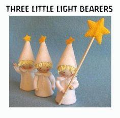 KIT de tres portadores ligeros poco