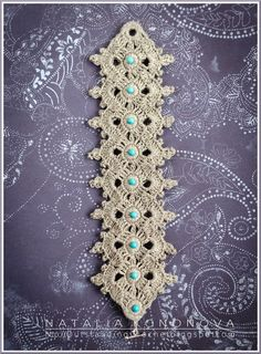 Beautiful crocheted bracelet - Outstanding Crochet