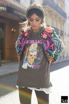 Blazer Fashion, Pop Fashion, Daily Fashion, Fashion Outfits, Womens Fashion, Cool Outfits, Casual Outfits, Rock Chic Outfits, Estilo Real