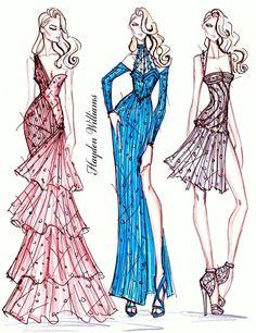 Hayden Williams Fashion Illustrations: September 2011