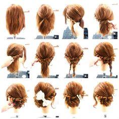 和装にぴったり!インスタで人気の美容師Erinaさんから学ぶセルフヘアアレンジレシピ♡にて紹介している画像