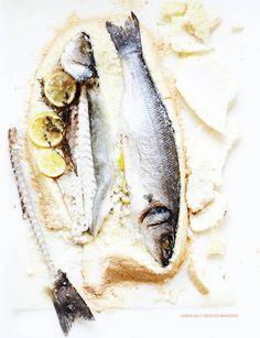 fish& salt& lemon
