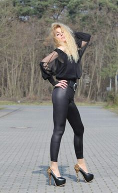 Sexy girl and shotgun