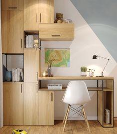 "Apartament 3 camere - Complex ""Nordis"" București - Creativ-Interior Interior, Corner Desk, Minimalism, Creative, Room, Furniture, Design, Home Decor, Corner Table"