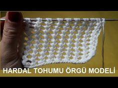 HARDAL TOHUMU ÖRGÜ MODELİ - #örgü #knitting - YouTube