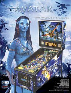 Avatar Pinball Machine - ThePinballCompany.com