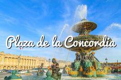 Plaza de la Concordia: La Concorde es la mayor plaza de París #paris #viajar #turismo #travel