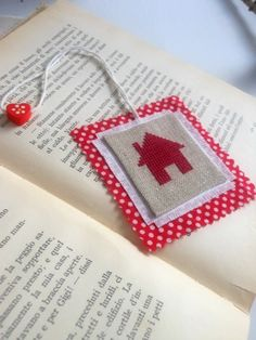 Bookmark - cross stitch embroidery pattern