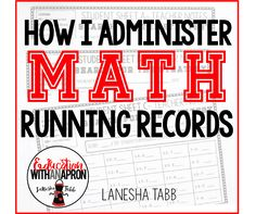 Education With An Apron : How I Administer Math Fact Running Records