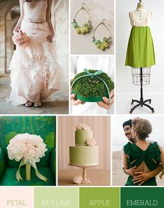 Color Palette: Petal, Key Lime, Apple and Emerald | Flights of Fancy