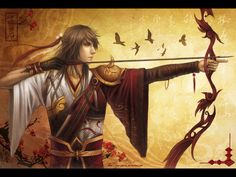 Water Margin- Hua Rong by *Yue-Iceseal on deviantART This should be someone.... I don't know who yet though
