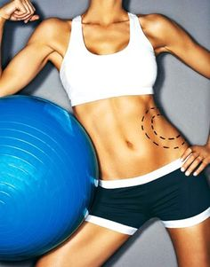 Crunch And Twist Workout for Women - Abs and Tummy Fitspiration
