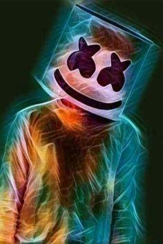 Tentem desen har o Marshmello pfvvvv❤ Joker Wallpapers, Gaming Wallpapers, Cute Wallpapers, Graffiti Wallpaper, Screen Wallpaper, Cool Wallpaper, Music Backgrounds, Wallpaper Backgrounds, Iphone Wallpaper