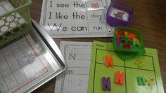 Little Minds at Work: Thanksgiving Freebies & Word Work!
