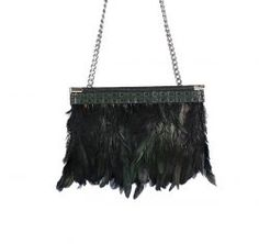 "Anouk - Cowgirl Clutch ""Feathers"" It's all about feathers - ein Must-Have für die nächste Party!"