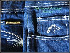 Vintage 1970's signature JORDACE jeans // vintage by HannahBe