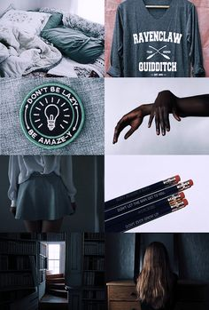 "Ravenclaw aesthetic 2/2 ""wit beyond measure is mans greatest treasure"""