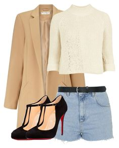"""""""Untitled #212"""" by queenweirdcass on Polyvore featuring Miss Selfridge, Topshop, Christian Louboutin, M&Co, women's clothing, women, female, woman, misses and juniors"""
