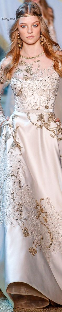 Fashion Show : Elie Saab Fall 2017 Couture Elie Saab Bridal, Bridal Gowns, Elie Saab Fall, Elie Saab Couture, Before Midnight, Bridal Show, Bridal Style, Prom Long, Looks Style