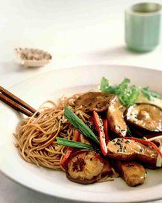 Stir-Fried Chicken with Noodles Recipe