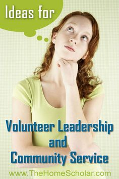 Ideas for Volunteer Leadership and Community Service