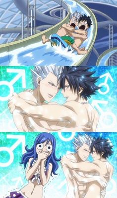 Fairy Tail if someone found this picture and had never watched fairy tail i wonder how they would react