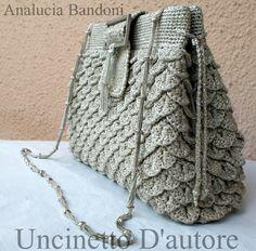 crochet bag croche bolsa uncientto borsa