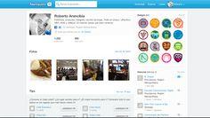 Foursquare:  https://es.foursquare.com/robertoa