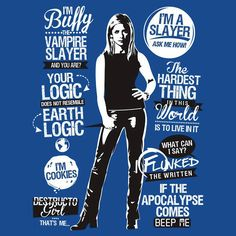 #Buffy the Vampire Slayer (aka my life)