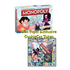 MONOPOLY: Steven Universe Edition - Hot Topic Exclusive CookieCat Token by USAopoly