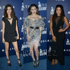 Jordin Sparks, Charli XCX, And Victoria Justice Each Bring A Whole Lotta Cleavage To The Delta Airlines Grammy Pre-Party