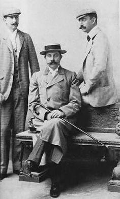 Three brothers: Archduke Ferdinand Karl (1868–1915), Archduke Franz Ferdinand (1863–1914), Archduke Otto (1865–1906) of Austria