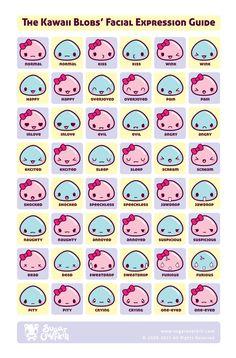 Kawaii faces!!!