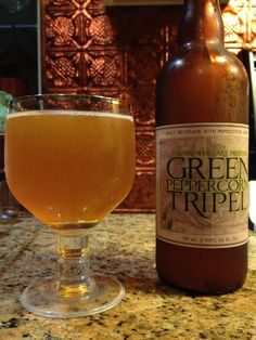 Green Peppercorn Tripel by The Brewer's Art; Baltimore, MD.