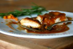 Cooking with Chopin, Living with Elmo: Sauteed Chicken Breasts with Orange-Rosemary Sauce