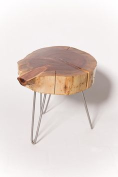The SoRo Is A Redwood Tree Slice Side Table Is About 14u2033 In Diameter And 4u201d  In Thickness. The Caramel Colored Slices Vary From Piece To Piece, ...