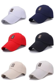 [Visit to Buy] Unisex Men Women Sport Outdoor Exercise Baseball Cap Golf Hat Adjustable 1pcs #Advertisement