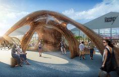 SHoP architects: 3D printed pavilion at design miami 2016