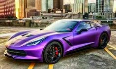 Purple CORVETTE!